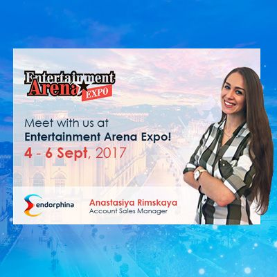 Endorphina приглашает Вас на Entertainment ArenaExpo 2017 в Румынии!