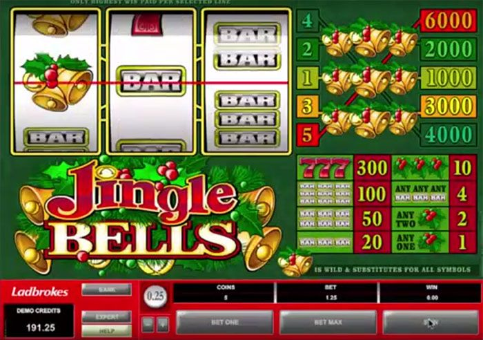 Онлайн-игра Jingle Bells от Microgaming