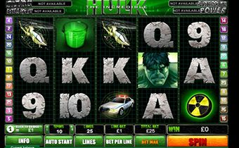 Игровой софт Playtech - The Incredible Hulk