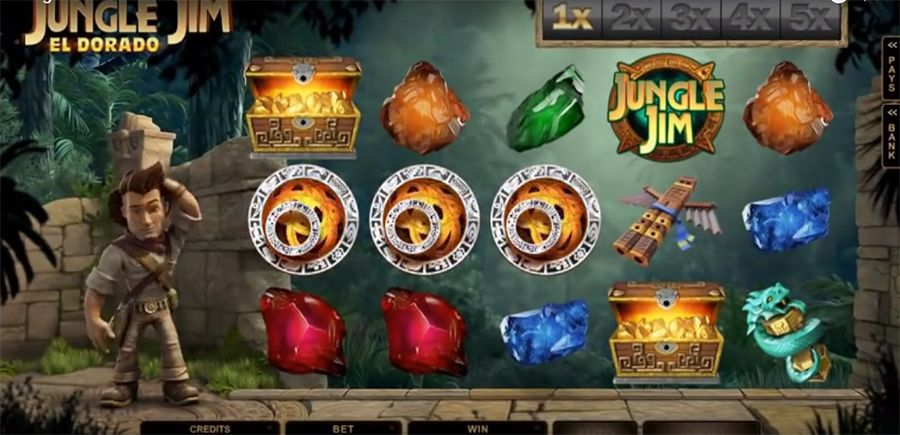 игра Microgaming - Jungle Jim El Dorado , скриншот 3