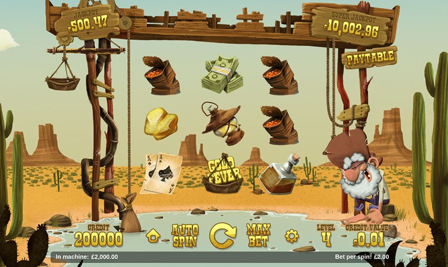 Magnet Gaming - Gold Rush, скриншот 1