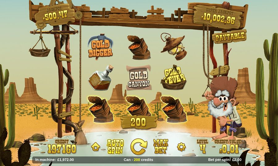 Magnet Gaming - Gold Rush, скриншот 3