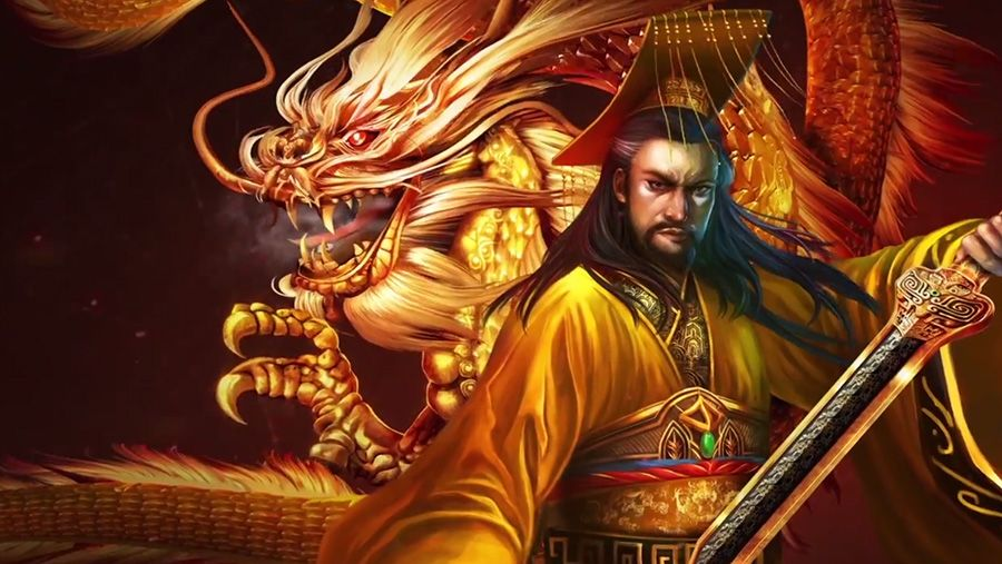 Microgaming - Huangdi - The Yellow Emperor, скриншот 1