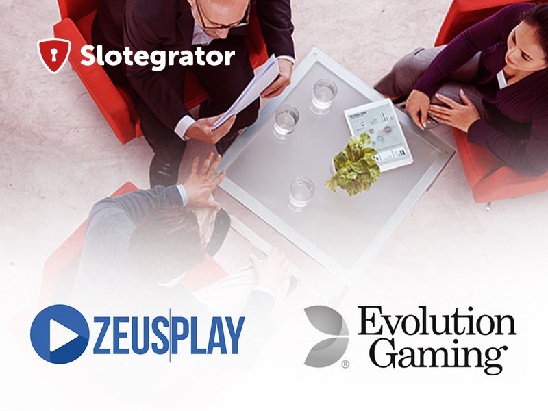 Slotegrator, Evolution Gaming и ZeusPlay