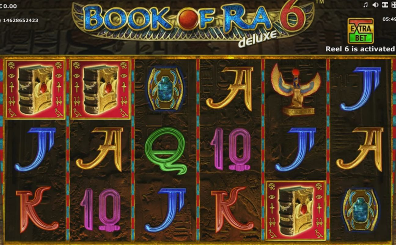 Gaminator - Book of Ra 6, скриншот 1
