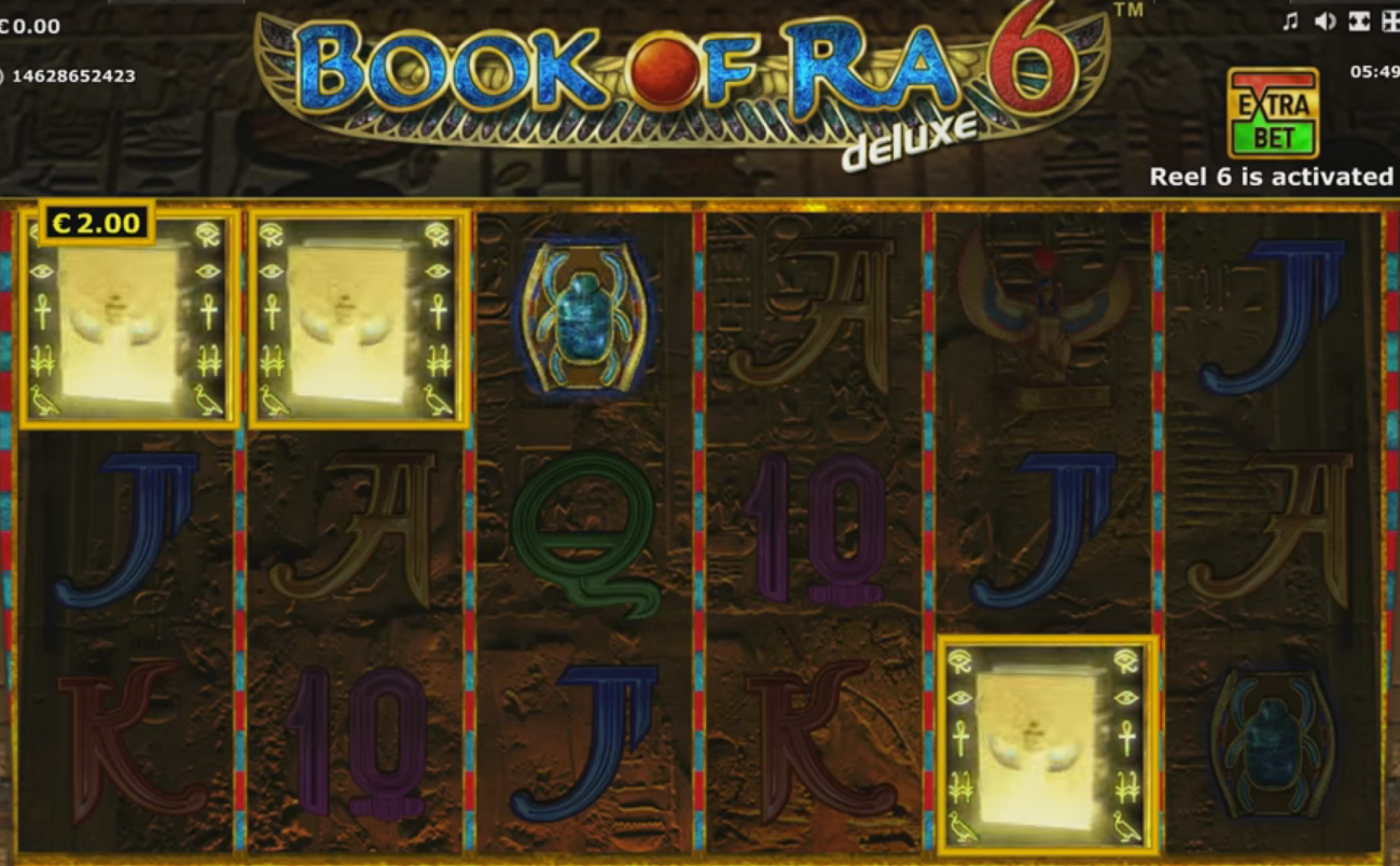 Gaminator - Book of Ra 6, скриншот 6