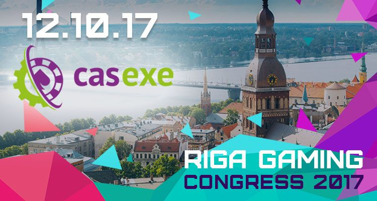 CASEXE на Riga Gaming Congress 2017